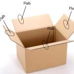 4 Flab karton box