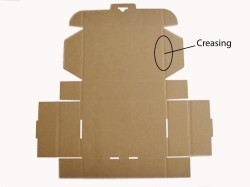 Carton box creasing
