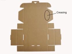 Carton box creasing