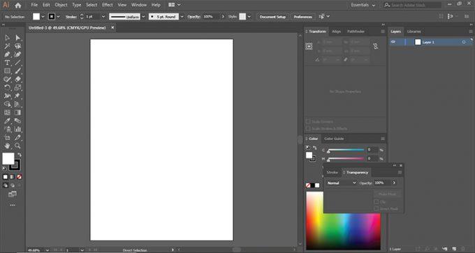 Adobe Ilustrator CC 2019