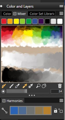Color Mixer Corel Painter 2021