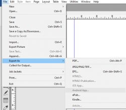 Original format file supported by QuarkXpress