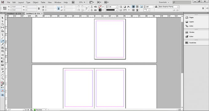 Layout Adobe Indesign CS6