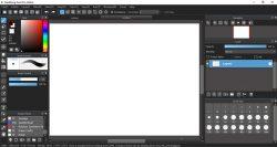 Layout MediBang Paint Pro