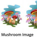 SVG Mushroom Small-Medium-Large