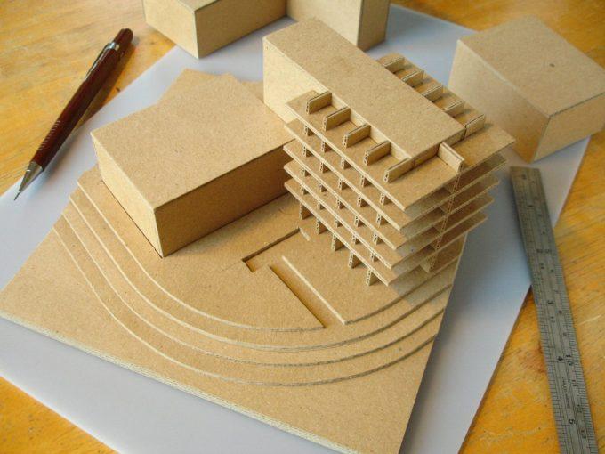 davidneat architecture cardboard